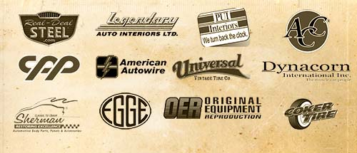 Restoration parts for your vintage ride. Restoration brands.
